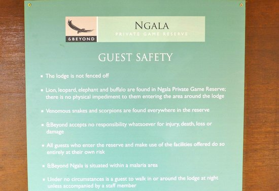 andBeyond Ngala Safari Lodge: Caveat Emptor!