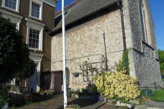 Thames House: le patio