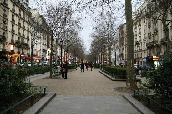 Residence Blanche: the park nearby