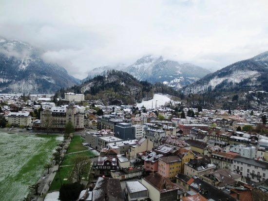 Metropole Hotel Interlaken : View from the balcony of the room