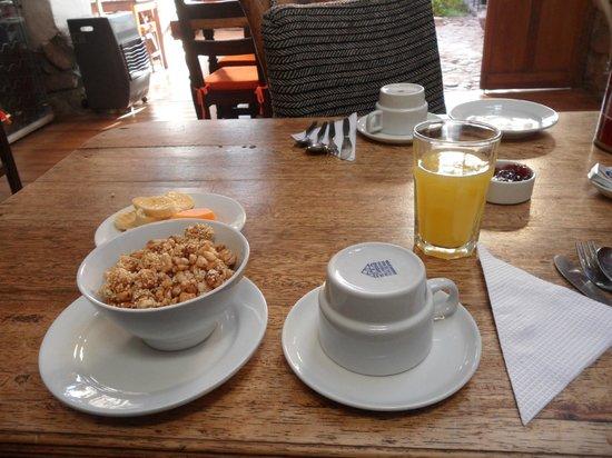 El Balcon: Desayuno