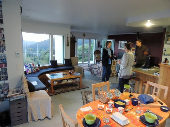 Whangarei Views Bed and Breakfast & Apartment : A great Breakfast