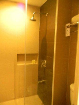 The Ritz Hotel At Garden Oases: the comfort room/bathroom
