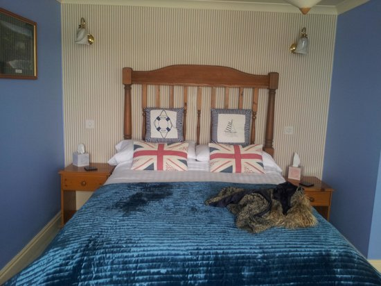 The Edgcumbe Arms: room