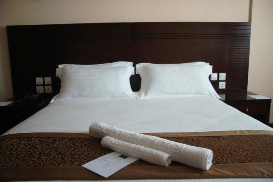 Central Hotel Tana: Lit king size