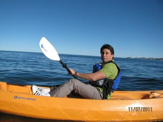 Isla Suasi Hotel : Kayak en el Titicaca, una experiencia inolvidable.