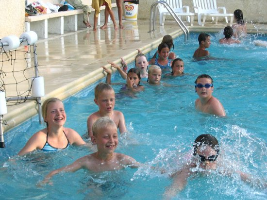 Camping de l'Ayguette : Water-polo