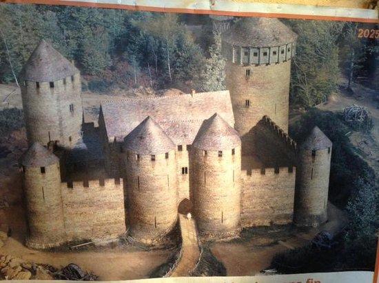 le projet final picture of chantier medieval de guedelon treigny tripadvisor. Black Bedroom Furniture Sets. Home Design Ideas