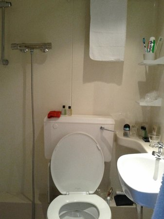 Arosfa Hotel: Douche, WC, lavabo : 12M2