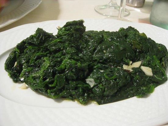 Ristorante Roma da Marcellini: Spinach