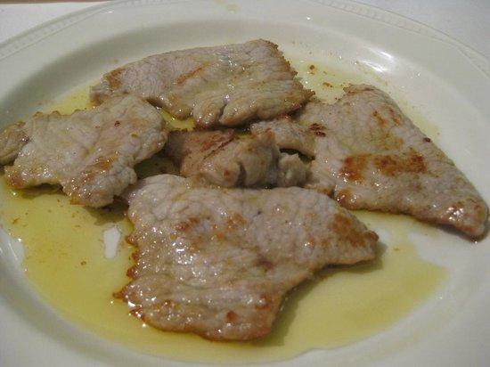 Ristorante Roma da Marcellini: Veal with lemon