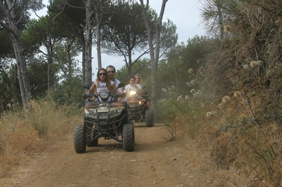 Pinea Campus : Pinea Activities: ATV riding