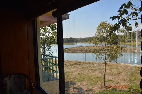 Hareli Eco Resort: view from room