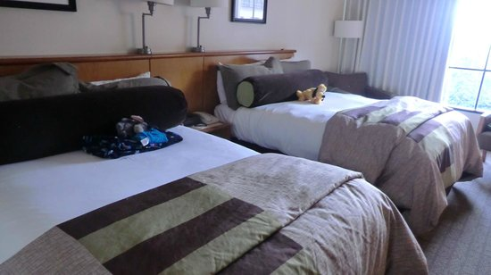 Hard Rock Hotel at Universal Orlando: Very comfortable beds