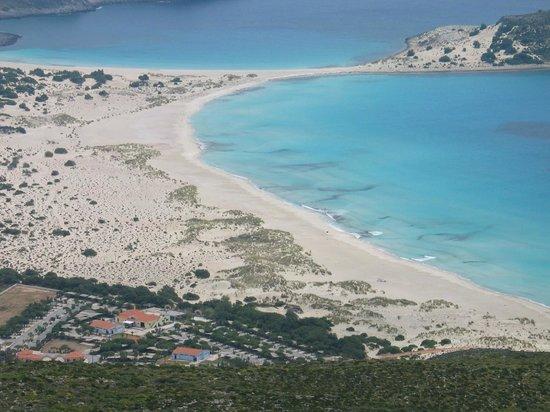 Simos Beach and Simos Camping