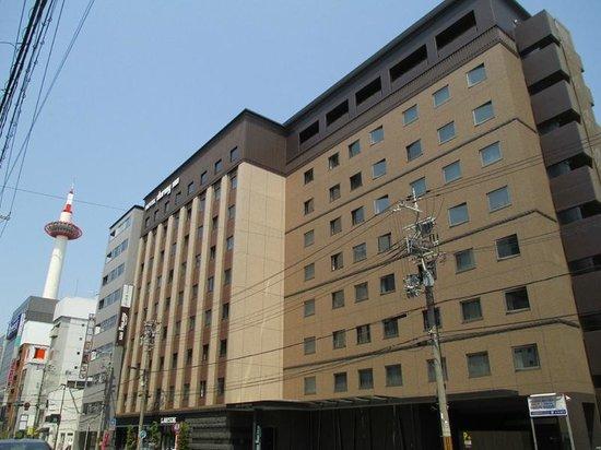 Dormy Inn Premium Kyoto Ekimae: 灯台もと暗しな立地