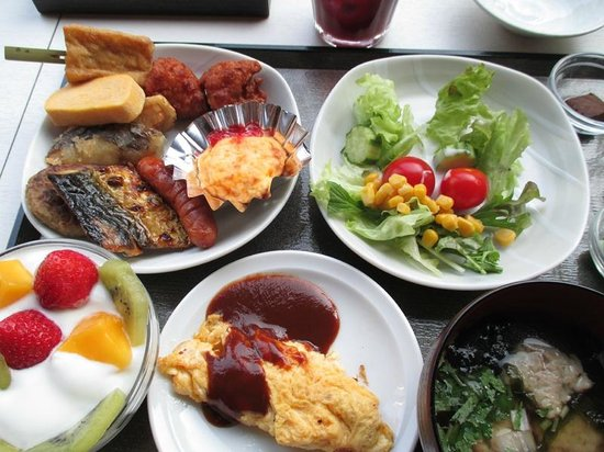 Dormy Inn Premium Kyoto Ekimae: 朝食