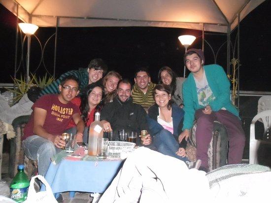 Hotel Riviera Arequipa: Asadito en la terraza!!!