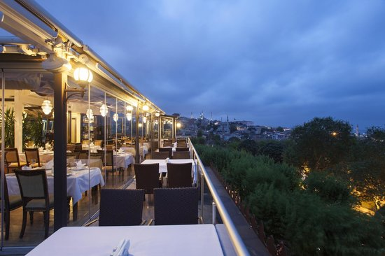 Ottoman Hotel Park: Tabbah Restaurant