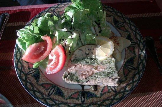 Logis des Cretes de Pignols : Terrine de saumon