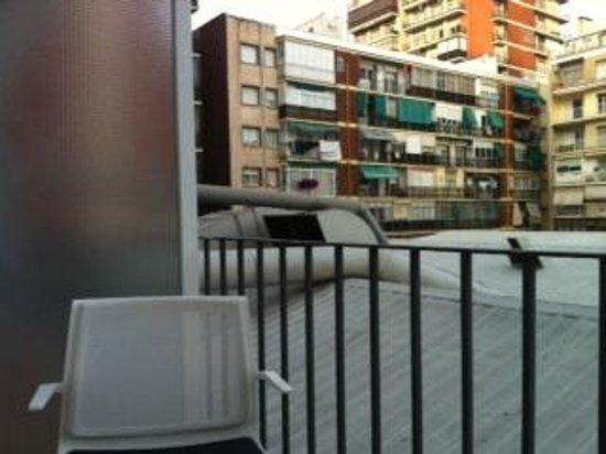 NH Barcelona Stadium : The view 2 ....