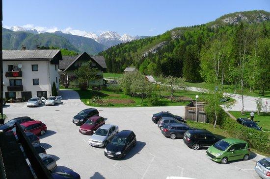 Hotel Kristal: From room balcony