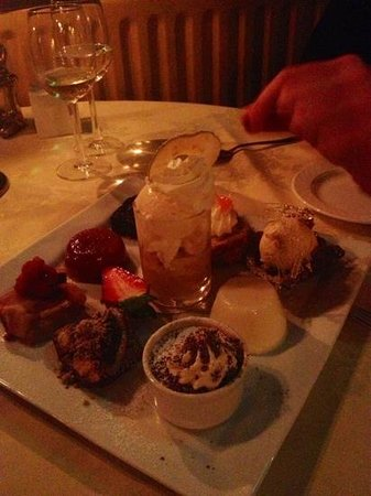 Crab & Lobster: the dessert of all desserts. absolutely amazing