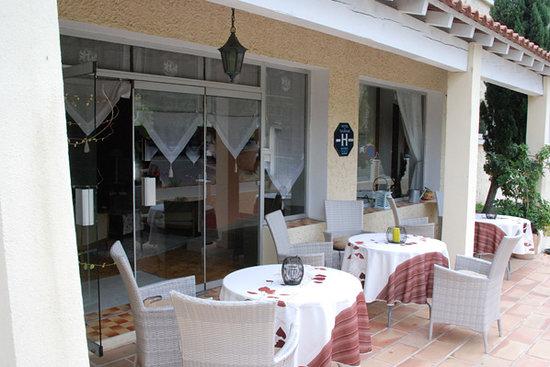 Hotel Le Castellan : Terrasse hôtel