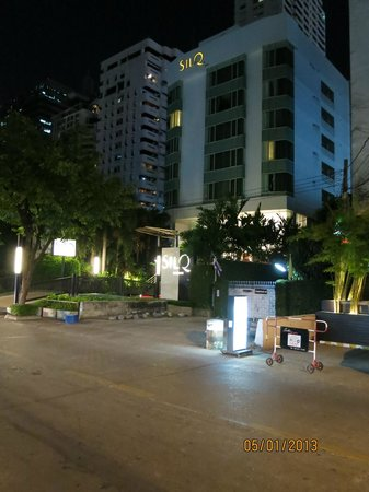 SILQ Bangkok at night
