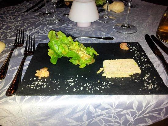 Hôtel de la Poste : Salade de foie Gras