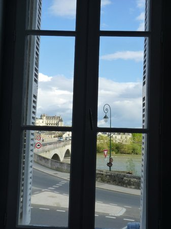 Le Clos Saint Raphael: View over Amboise from Clos Saint Raphael
