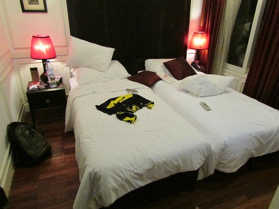 Hanoi Boutique Hotel & Spa: The room