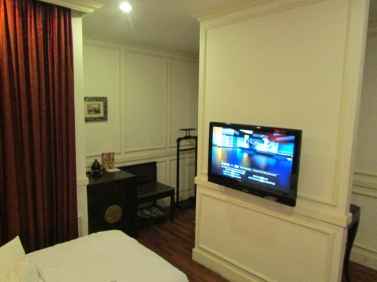 Hanoi Boutique Hotel: The room
