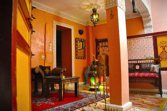 Riad Atika Meknes: first floor