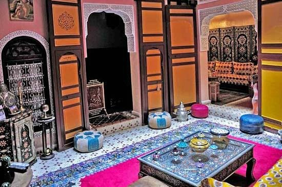 Riad Atika Meknes: Ground floor