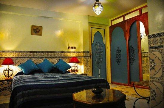 Riad Atika Meknes : Chambre Azrou