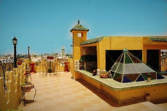 Riad Atika Meknes: terrace