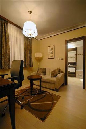 Villa Lovorka : office + bathroom
