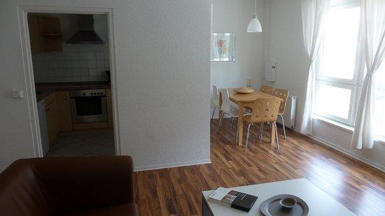 Apartments am Brandenburger Tor : Keuken 3slk-app 0203