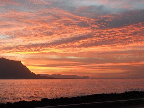 B&B Sul Mare : tramonto