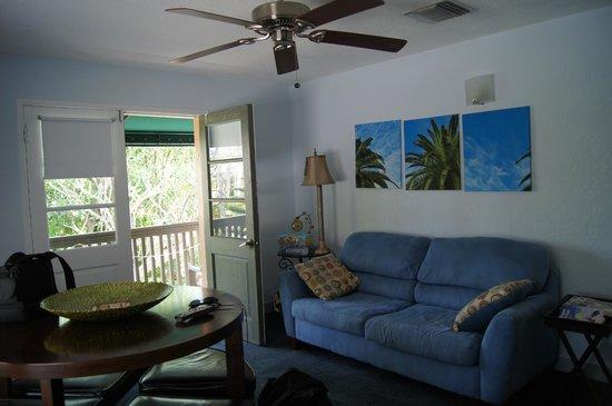 Suite Dreams Inn: le salon + balcon