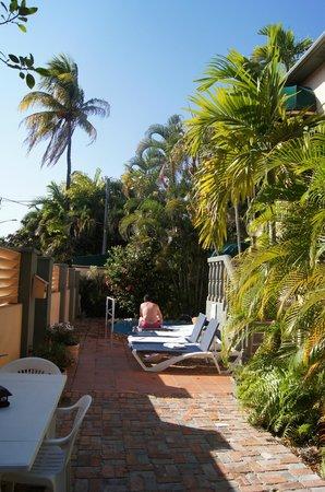 Suite Dreams Inn: le patio