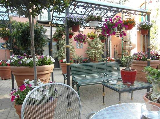 Hotel Villa Romeo: palio