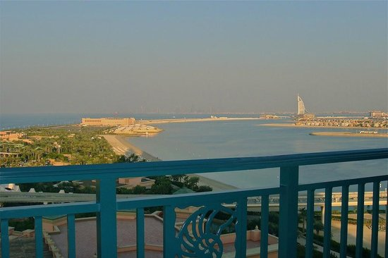 Atlantis, The Palm: View from Executive Floor