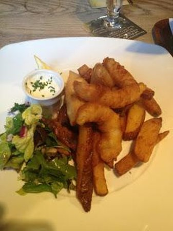The Victoria Hitchin: Fish and Chips