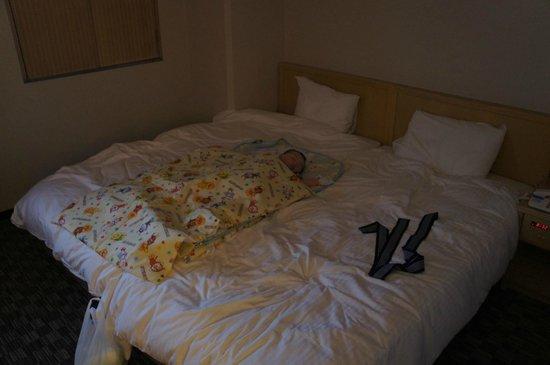 APA Hotel Kanazawa West: 乳幼児との添い寝
