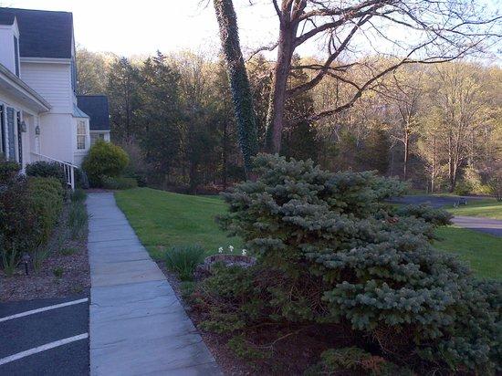 Wooden Duck B&B : Front walk
