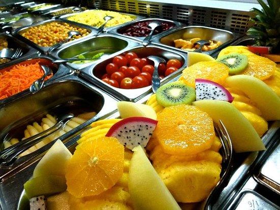 Hotel Restaurant Taucher: Salatbuffet