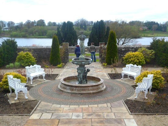 Lough Rynn Castle Estate & Gardens: another view of the walled garden