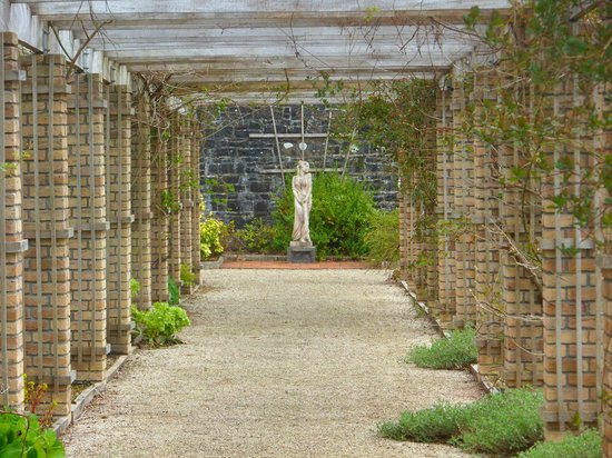 Lough Rynn Castle Estate & Gardens: view of the walled garden